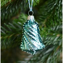 Vánoční zvoneček modrý
