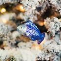 Vánoční rybka modro - fialová