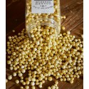Dekorační zlaté kuličky v dóze