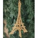 Vánoční ozdoba Eiffelova věž