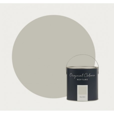 Anglická barva stříbrná bříza, Silver Birch matt, 2,5 l