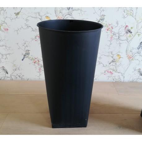 Plechový koš na květiny, vel. S, 30 cm