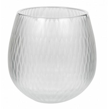 Svícen na čajovou svíčku Neve - clear